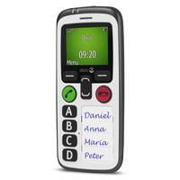 Téléphone portable Doro Secure 580 IUP blanc vue de droite