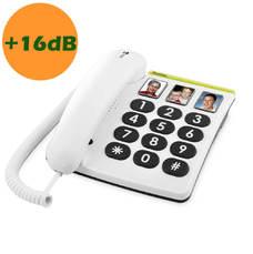 Téléphone filaire amplifié Doro PhoneEasy 331ph