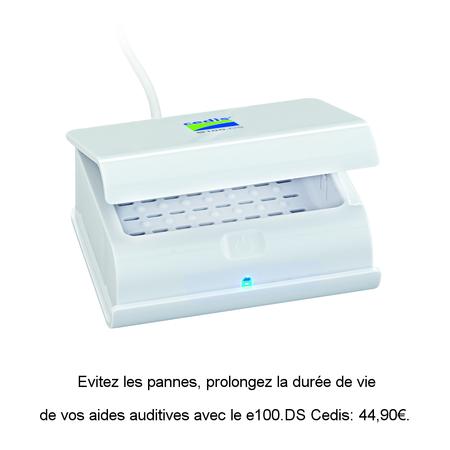 Station de séchage pour appareils auditifs Cedis e100.DS