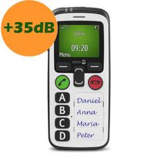 Téléphone portable Doro Secure 580 IUP blanc vue de face