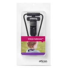 Packaging Oticon SafeLine Clip de sécurité pour appareil auditif