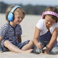 Casque anti bruit pour enfant MUFFY bleu sur enfant