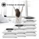 SmartShaker 2 - coussin vibrant pour réveil avec bluetooth 3 niveaux de vibrations