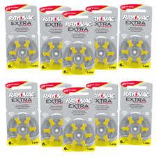 Pack ECO France 10 plaquettes de piles auditives Rayovac 10 sans mercure LIVRAISON INCLUSE