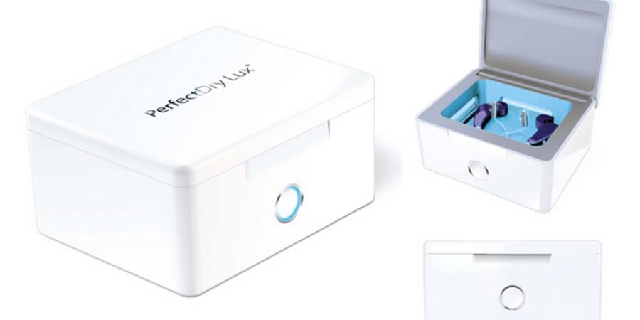 boîte asséchante pour aides auditives perfect dry lux combo pour fiche