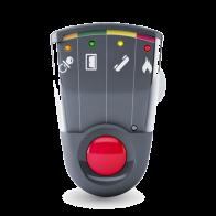 Système de signalisation par flashs, vibrations et sons